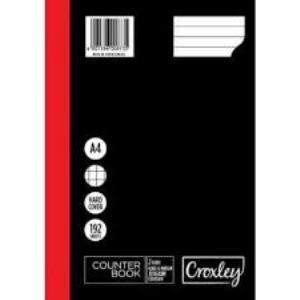 Picture of Croxley A4 Hardcover Counter Book 192pg