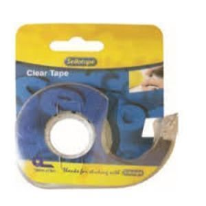 Picture of Sellotape Clear tape - 12mmx15m