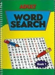 Picture of Adult Word Search - Book 1