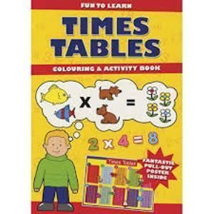Picture of Times Tables - Colouring & Activity Book