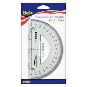 Picture of Helix 15cm/180degree Protractor