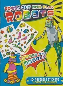 Picture of Press-out and Play Robots