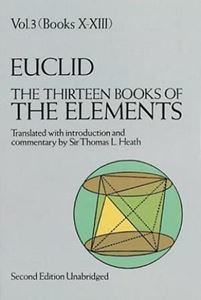 Picture of The Thirteen Books of the Elements Volume 3