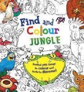 Picture of Find and Colour Jungle