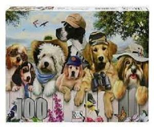 Picture of Animal Line-Up-100 Piece Puzzle